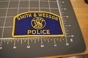 Vintage Smith & Wesson Police Patch