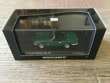 Minichamps 1/43 Triumph Spitfire MKIV 1974 green 400 132530 exclusive, sold out