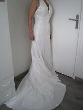Magnifique et élégante robe de mariée ivoire de chez Hervé Mariage