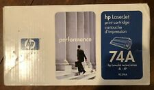 HP 92274A 74A LaserJet Toner Cartridge for 4L 4ML 4P 4MP Sealed Genuine OEM New