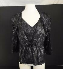NWT Pretty Angel Womens Bolero Jacket Matching Camisole Set Grey Gray Black L W5