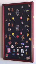 Large Pin / Medal Display Case Cabinet w/door