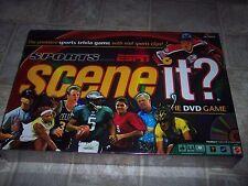 MATTEL SCENE IT SPORT TRIVIA GAME~THE DVD GAME~BRAND NEW & SEALED