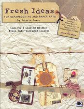 Rebecca Sower BOOKLET +Fresh Cuts/Background/Design Ideas - Cards/Scrapbooking