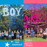 4 Pack Gender Reveal BIODEGRADABLE Confetti Cannon Same Day Shipping, Pink/Blue