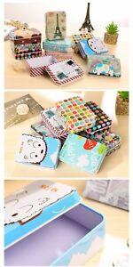 Mini Cute Tin Box Storage/Jewelry/Buttons/Organizer/Gift/Wedding Favor/Child