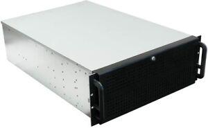 "NORCO RPC-470 Black 4U Rackmount Server Case 3 External 5.25"" Drive Bays - OEM"
