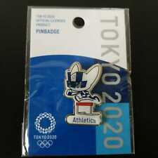 a02)TOKYO 2020 OFFICIAL LICENSED PRODUCT PIN BADGE 【Athletics】