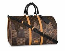 Louis Vuitton x NIGO Keepall 50 Travel Duffle Bag N40360 Damier Auth New receipt
