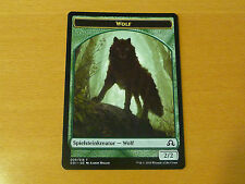 4 Wolf token (Mint, sombra sobre Innistrad alemán)