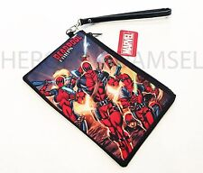 Marvel Comics DEADPOOL CORP. WRISTLET WALLET - Purse Organizer Cell Pouch