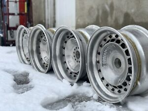"4) Compomotive Turbo Wheels centerlock 13"" rare vintage oldschool"
