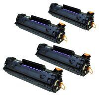 4PK CB435A Toner Cartridge For HP35A LaserJet P1005 P1006