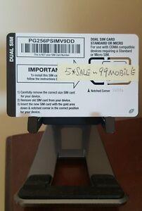 Page Plus PagePlus Dual Sim Card ( Standard / Micro ) - Verizon 4G LTE phones