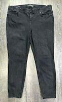 Torrid Womens Jeans Size 22R Bombshell Skinny Black