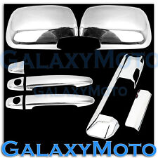 05-11 TOYOTA TACOMA Chrome Mirror+2 Door Handle+Tailgate Camera hole Cover