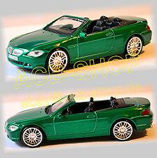 BMW série 6 Cabriolet E64 2003-10 Rue Tuners 1:43 vert vert métallisé