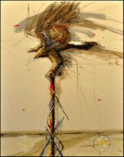 """Larry Fodor """"Dream Eagle 3"""" Hand Signed & Numbered Make an Offer L@@K"""