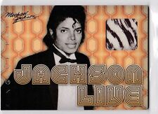 2011 PANINI MICHAEL JACKSON KING OF POP LIVE WORN USED 1971 BOYD CLAPTON SP JL2
