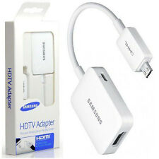 "Genuine MHL 2.0 to HDMI HDTV Adapter For Samsung Galaxy Tab S 10.5 / 8.4"" TabPro"