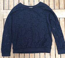 H&M Pullover Ajour ? Gr 134/140 Schwarz