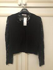 M&S Black Per Una Cardigan New Size 22