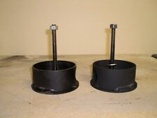 "S-10 Front Air Bag Cups (upper cups only) 2.5"" height"