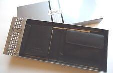 Buxton Classic Men's Coin Billfold Genuine Leather Wallet,Black,NIB