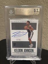 Keldon Johnson 2019-20 Encased Rookie Autograph RC Auto /99 - BGS 9.5 GEM MINT