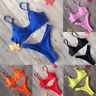 Women Padded Bra Bikini Set Swimsuit Bandage Push-up Triangle Swimwear Bathing