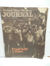 Vintage Coal Mining UMWA United Mine Workers Journal July 1976 Bicentennial