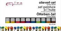 Künstlerbedarf - Ölfarbenset 12x12 ml
