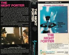 PRE-CERT CUT DOWN VIDEO CARTON - INTERVISION - THE NIGHT PORTER