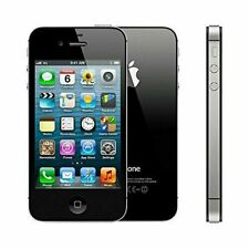 BLACK APPLE IPHONE 4S 16GB UNLOCKED CELL PHONE FIDO ROGER CHATR TELUS BELL KOODO