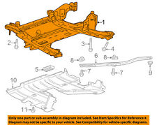 Cadillac GM OEM 15-18 ATS Front Suspension-Engine Cradle 84011260