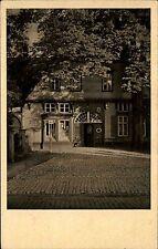 Werther bei Bielefeld alte Ansichtskarte ~1930 Straßenpartie am Stillen Winkel