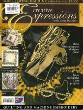 4 x Creative Expressions with Jenny Haskins Magazine - PB back issues 2 4 12 8