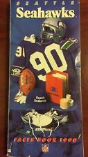 1990 SEATTLE SEAHAWKS MEDIA GUIDE