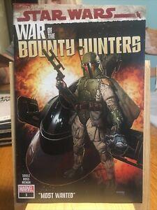 MARVEL COMICS: STAR WARS WAR OF THE BOUNTY HUNTERS. #1. BOX T