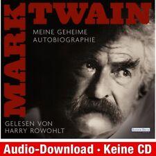 Hörbuch-Download (MP3) ★ Mark Twain: Meine geheime Autobiographie