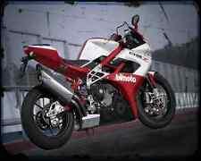 Bimota Db7 10 1 A4 Metal Sign Motorbike Vintage Aged