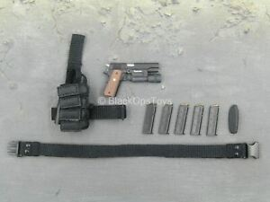 1/6 scale toy Speed - LAPD SWAT - 1911 Pistol w/Drop Leg Holster & Mag Pouch