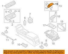 AUDI OEM 15-17 A8 Quattro Front Center Console-Handle Cover 4H1713141ALE2