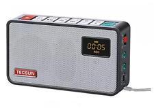 Tecsun ICR-100 (16G) 4-In-1 Pocket FM Radio ETM Tuning, Digital Recorder Black