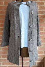 Jones New York Women Merino Wool Sweater Long Sleeve XL Charcoal Gray