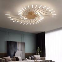 Nordic Fireworks Chandelier Modern Ceiling Light Dandelion Fixture Living Room