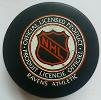 TORONTO MAPLE LEAFS NHL OFFICIAL RAVENS ATHLETIC MADE IN SLOVAKIA HOCKEY PUCK