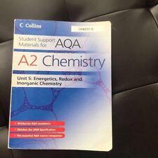AQA A2 Unit 5 Chemistry Textbook:energetics, Redox & Inorganic Chemistry