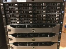 Dell R720xd 12bay 3.5 Two E5-2630V2 64GB H710 iD7 Ent 10x 4TB SAS 300GB 10Gb 12x