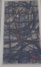 "unleserl. signiert ""Engel"" Fensterwentwurf, Aquarell, ger/Glas, RG  (219/12046)"